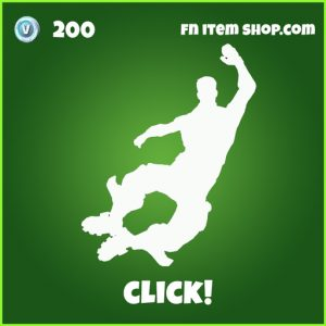 click 200 uncommon emote fortnite
