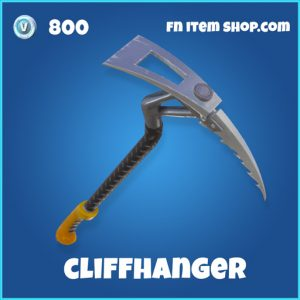 cliffhanger rare pickaxe 800 fortnite