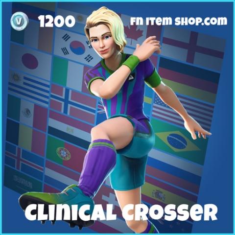 clinical crosser wk18 1200 rare skin fortnite
