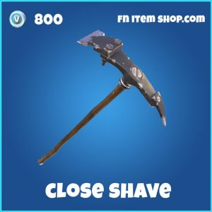 close shave rare skin fortnite pickaxe