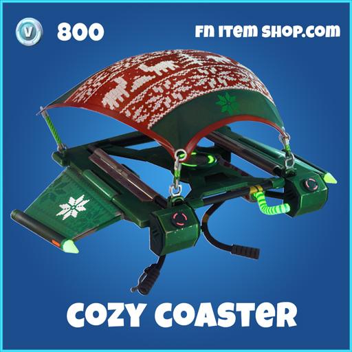 Cozy Coaster 800 Glider Rare fortnite