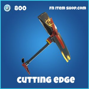 cutting edge rare 800 pickaxe fortnite