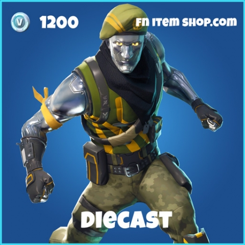 Diecast rare 1200 skin fortnite
