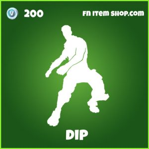dip 200 uncommon emote fortnite