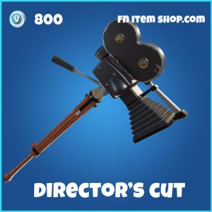 directors cut rare 800 pickaxe fortnite