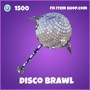 Disco Brawl 1500 Pickaxe epic fortnite