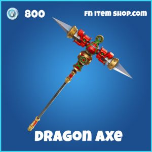 Dragon Axe 800 rare pickaxe fortnite