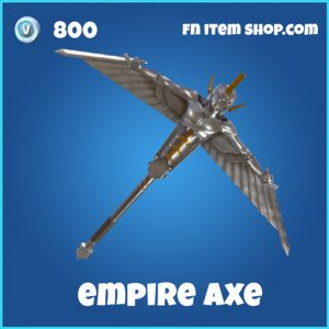 empire axe 800 pickaxe rare fortnite