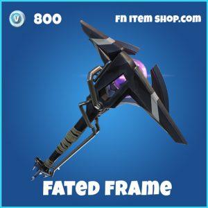 fated frame 800 rare pickaxe fortnite