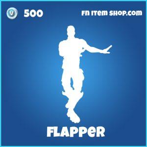 Flapper 500 emote rare fortnite
