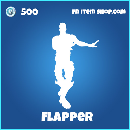 Flapper 500 emote rare fortnite