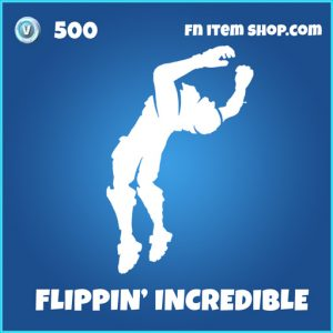 flippin incredible 500 rare emote fortnite