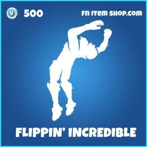 flippin incredible 500 rare emote fortnite