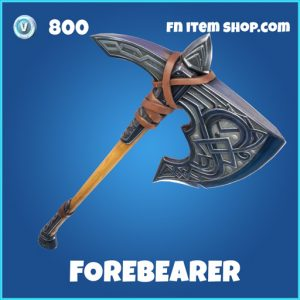 forebearer 800 rare pickaxe fortnite