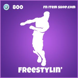 freestylin' epic 800 emote fortnite