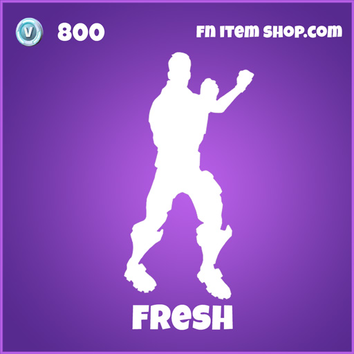 Fresh Emote 800 Epic fortnite