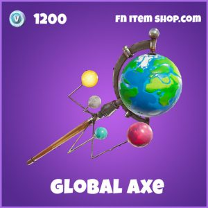 global axe pickaxe 1200 epic fortnite