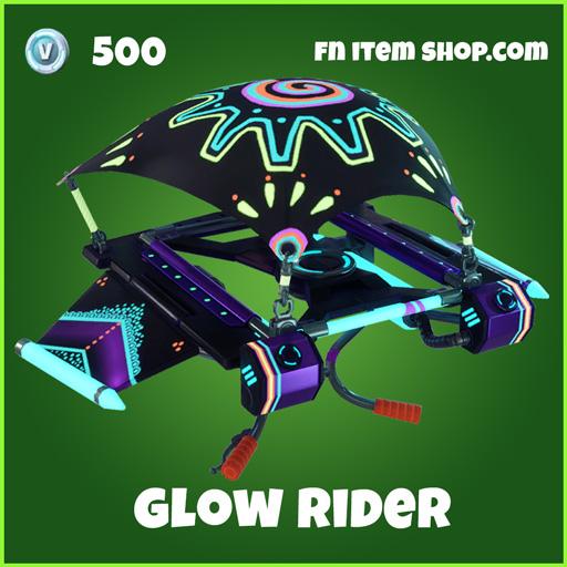 Glow Rider 500 uncommon glider fortnite