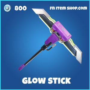 Glow Stick Rare Pickaxe rare 800 fortnite