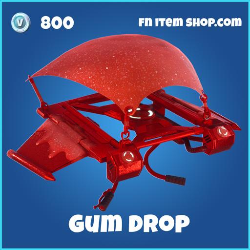 gum drop rare glider fortnite