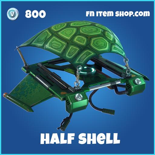 Half Shell 800 rare Glider fortnite