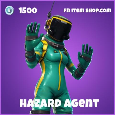 hazard agent 1500 epic skin fortnite