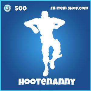 Hootenanny Emote 500 rare fortnite