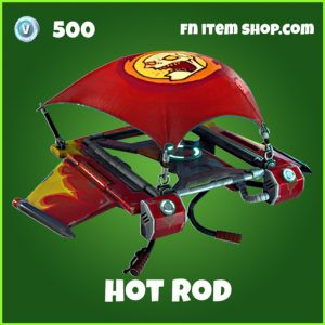 Hot Rod 500 uncommon glider fortnite