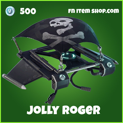 Jolly Roger 500 Uncommon Glider fortnite