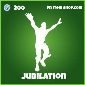 Jubilation Emote 200 Uncommon fortnite