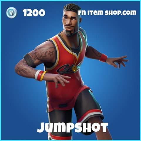 jumpshot 1200 rare skin fortnite