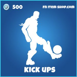 kick ups 500 rare emote fortnite