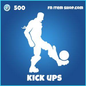kick ups 500 rare emote fortnite