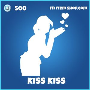 Kiss Kiss emote 500 rare fortnite