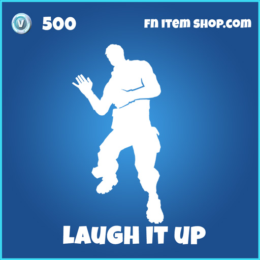 laugh it up 500 rare emote fortnite