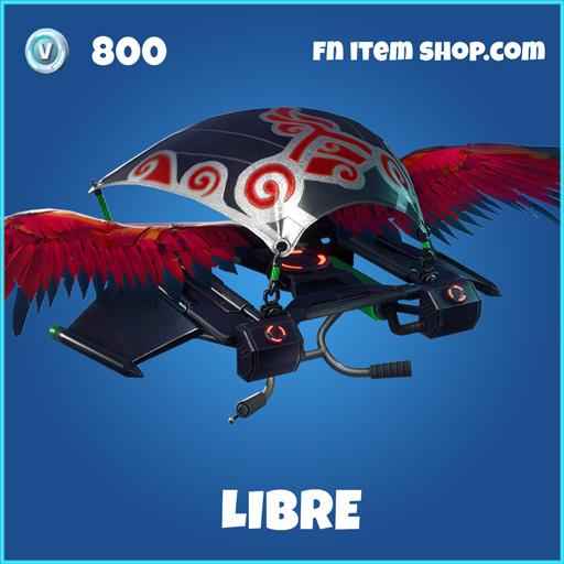 libre 800 rare glider fortnite