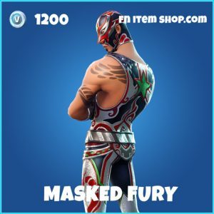 masked fury 1200 rare skin fortnite