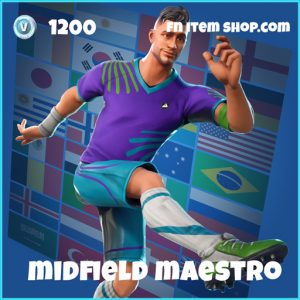 midfield maestro wk18 1200 rare skin fortnite