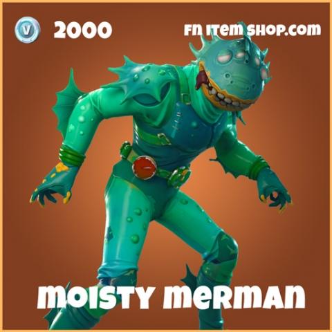 moisty merman legendary skin 2000 fortnite