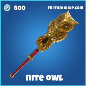 nite owl 800 rare pickaxe fortnite