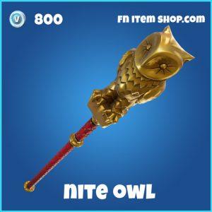 nite owl 800 rare pickaxe fortnite