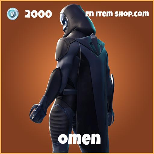 omen 2000 legendary skin fortnite