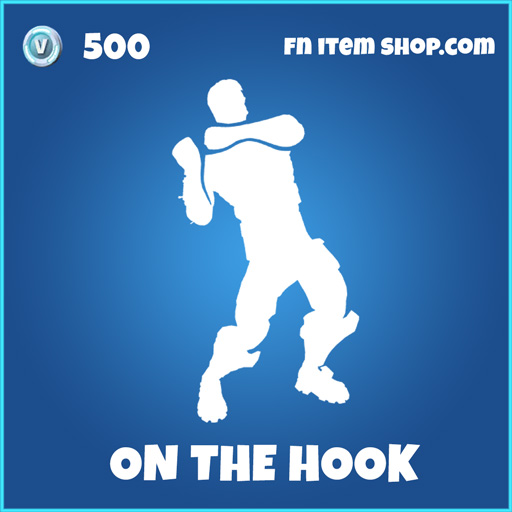 on the hook 500 rare emote fortnite
