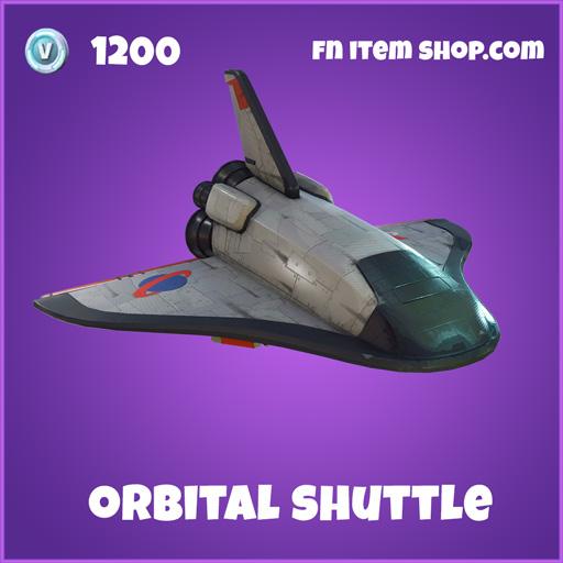 orbital shuttle 1200 epic glider fortnite