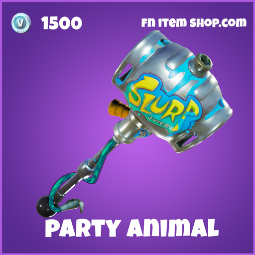 Party Animal Epic 1500 Pickaxe fortnite