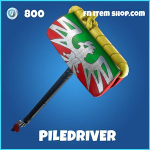 piledriver 800 rare pickaxe fortnite
