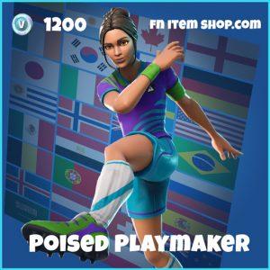 poised playmaker wk18 1200 rare skin fortnite