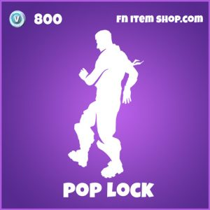 pop lock 800 epic emote fortnite
