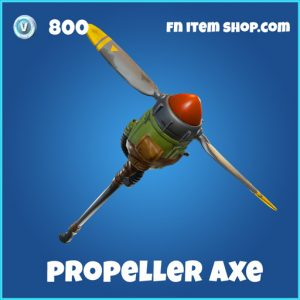 propeller axe 800 rare pickaxe fortnite