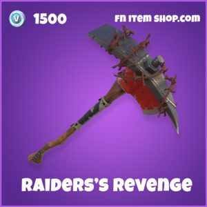 raider's revenge 1500 epic pickaxe fortnite